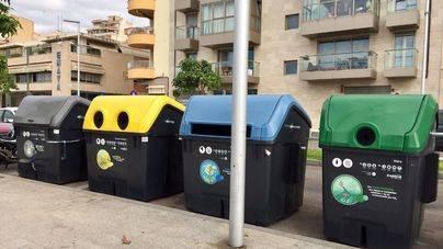 La recogida selectiva de vidrio en Palma crece un 19 por ciento