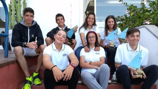 Marta Lazarán del Club Nàutic s'Arenal, oro en Láser 4.7 sub 16
