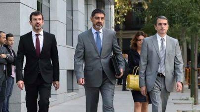 La jueza deja en libertad a Trapero pero le retira el pasaporte acusado de sedición