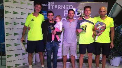 Juan Carlos Balaguer y Marc Pou se coronan en el I Torneo Pádel El Corte Inglés
