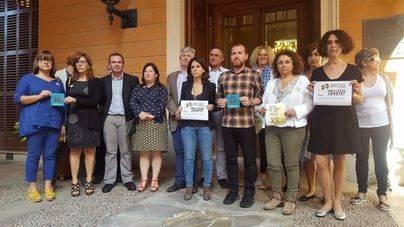 El PSIB se une a Més y Podem para condenar el encarcelamiento de Sánchez y Cuixart