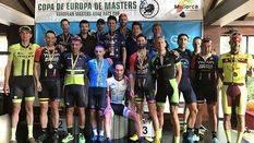 Nova Beach Park acoge la Copa de Europa Masters en la semana de ciclismo