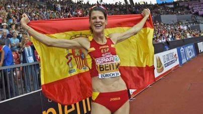 La campeona olímpica de salto de altura Ruth Beitia anuncia su retirada
