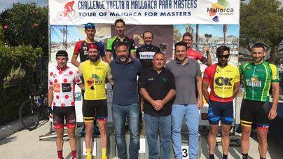 Roy Chamberlain y André Filipe ganan la segunda etapa de la Master Week en el Port de Pollença