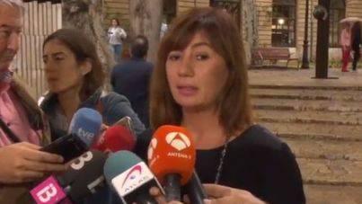 """Armengol: """"Ni la DUI ni el 155 abordan el problema de fondo en Cataluña"""""""