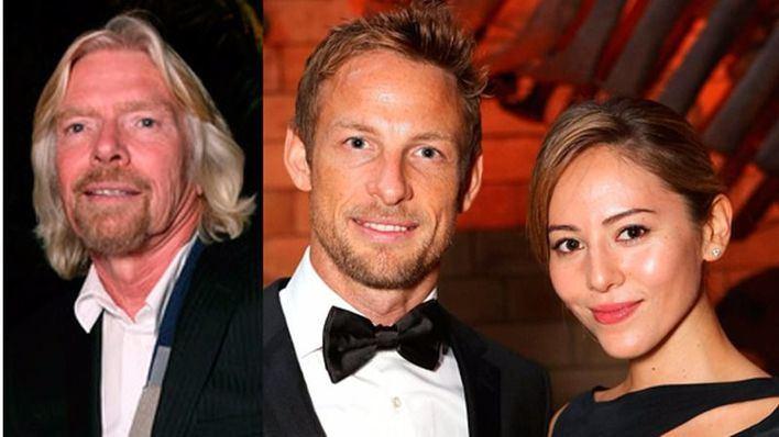 Richard Branson intentó abusar de la mujer de Jenson Button, según el piloto de Fórmula 1