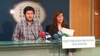 Podem rechaza la intervención en Cataluña y pide a Antich que vote en contra del 155 en el Senado