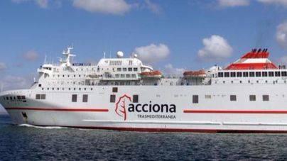Acciona vende su participación en Trasmediterránea a Naviera Armas por 260,4 millones de euros