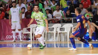 El Palma Futsal se va de la Copa del Rey con la cabeza alta tras caer ante el Barça