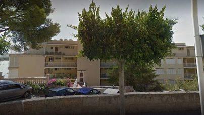 Desalojados por un incendio los inquilinos de un bloque de apartamentos en Santa Ponça