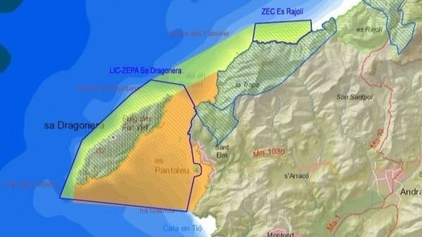 El GOB pide al Govern que le apoye en su propuesta del nueva reserva marina en el poniente de Mallorca