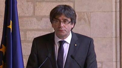 Puigdemont descarta elecciones al no tener garantías de que se frene el artículo 155