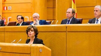 Sáenz de Santamaría pide autorizar el 155