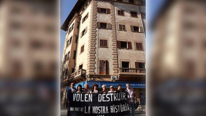 ARCA advierte que Cort permitirá el derribo de un edificio emblemático del Passeig Mallorca