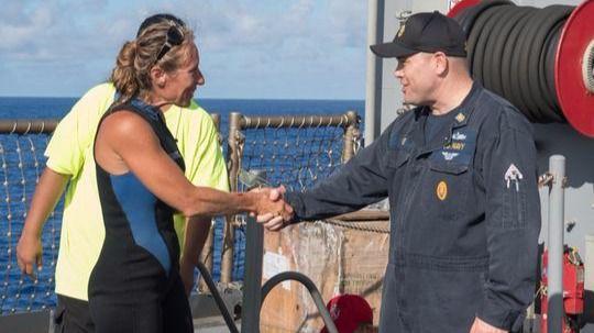Rescatan a dos mujeres y a su perro tras cinco meses perdidos en el Pacífico