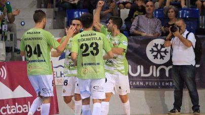 El Palma Futsal vuelve a la senda del triunfo y golea al Gran Canaria
