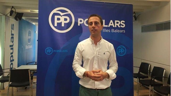 El portavoz del PP en Balears, Llorenç Galmés