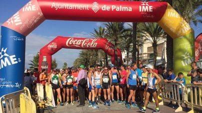 Hugo Rodríguez y Sebastiana Llabrés vencen en la II Running Course Palma Beach