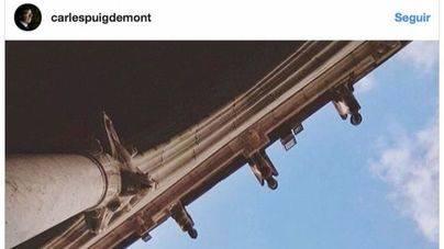 Puigdemont no va a la Generalitat pero sorprende con una foto en Instagram
