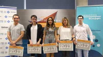 El Corte Inglés y la UIB entregan los premios IECISA