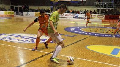 El Palma Futsal rasca un punto del Ciudad de Tudela