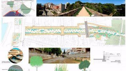 El Torrent dels Jueus será un paseo con vegetación y zona arbolada