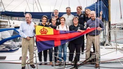 Zarpa desde Palma la travesía solidaria contra el cáncer