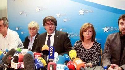 Puigdemont y los exconsellers quedan en libertad tras declarar ante el juez belga