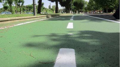 Comienzan las obras del nuevo carril bici de la calle Biniamar de Palma