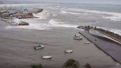 Alerta por oleaje en Mallorca y descenso de las temperaturas