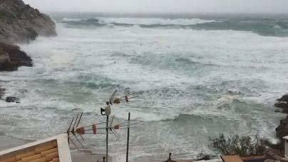 Frío, viento y mala mar este martes en Mallorca