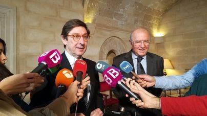El presidente de Bankia prevé mantener una dirección territorial en Balears tras la fusión con BMN