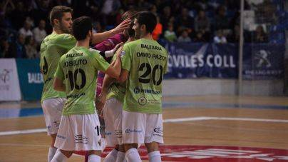 Festival de goles del Palma Futsal en Son Moix