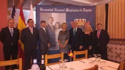 La delegación del Raiguer-Inca de la Hermandad Monárquica de España se presenta en sociedad