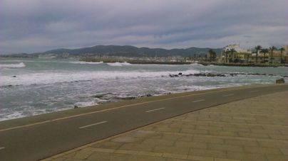 Lluvias en el noroeste de Mallorca y vientos fuertes para este sábado
