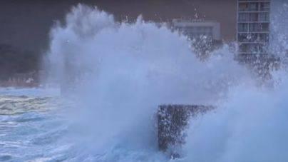 Alerta Naranja en el norte de Mallorca por olas de 5 metros