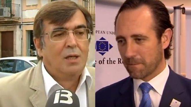 Los actuales senadores autonómicos, Antich y Bauzá