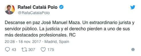 Muere el fiscal general Maza tdebido a una grave infección