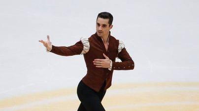 El patinador Javier Fernández brilla en Francia