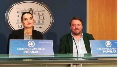 """El PP arremete contra Armengol y la tilda de """"cómplice"""" por no cesar a Biel Barceló"""