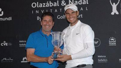 Nadal y Olazábal reúnen a golfistas y chefs en su torneo de golf solidario