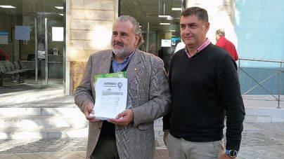 El pequeño comercio entrega más de 1.700 de firmas pidiendo luces de Navidad en cinco zonas de Palma