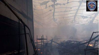 Los bomberos denuncian descoordinación y piden una Ley del Fuego tras el incendio de Marratxí