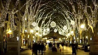Restricciones al tráfico en Palma por el encendido de las luces de Navidad