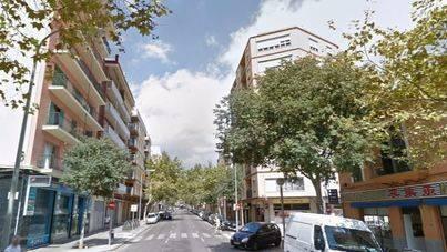 Calle Nicolau de Pacs en la que se producido el suceso