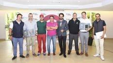 Francisco Ferrer, ganador del II Torneo de Golf APD, patrocinado por Urbia Services