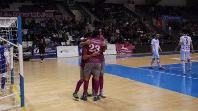 El Palma Futsal sufre pero acaricia la Copa tras la victoria ante el O Parrulo