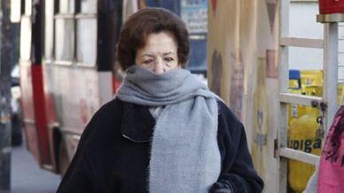 Frío y algún chubasco este lunes en Mallorca