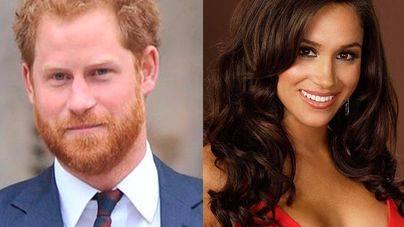 El príncipe Harry su novia Meghan Markle se casan