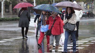 El frío se asienta y mañana, fuertes lluvias